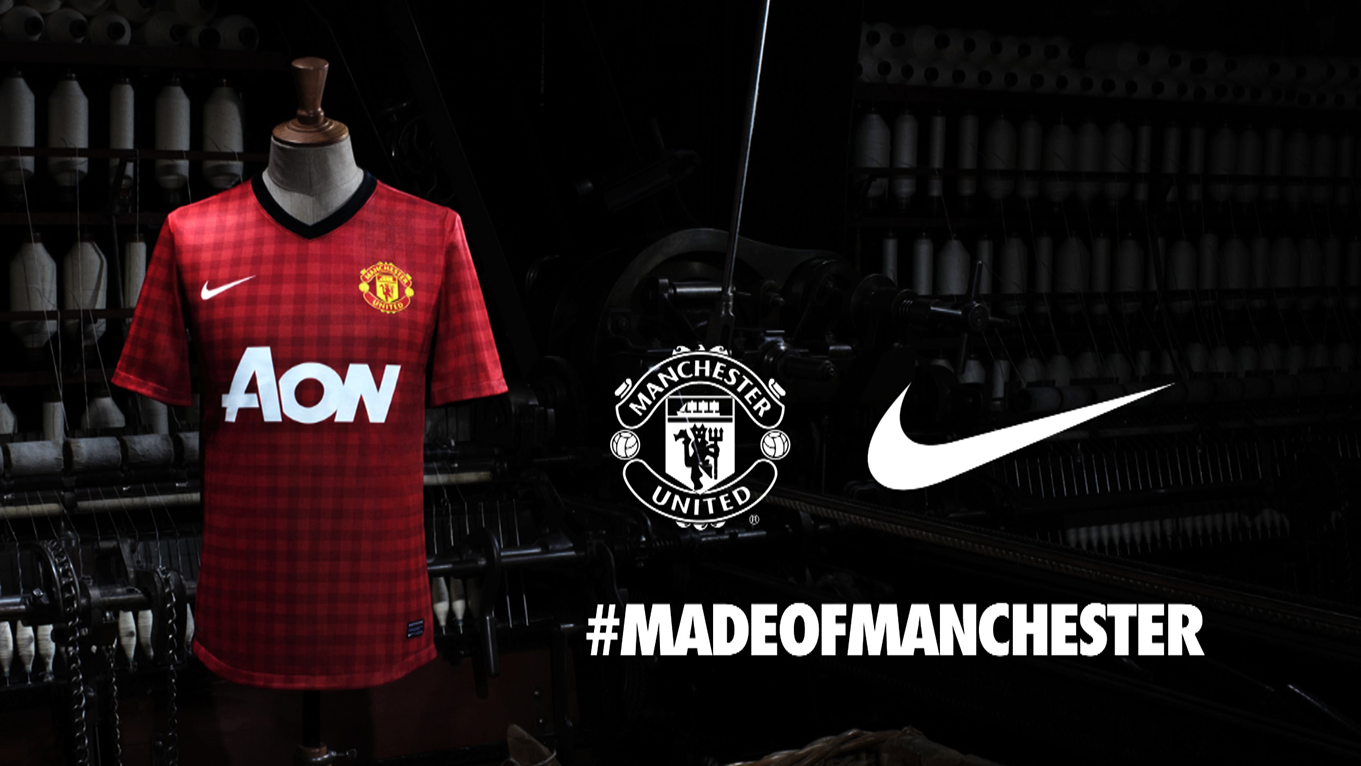 MAN UTD – SHIRT LAUNCH